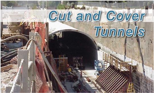 Các công nghệ xây dựng hầm hiện đại