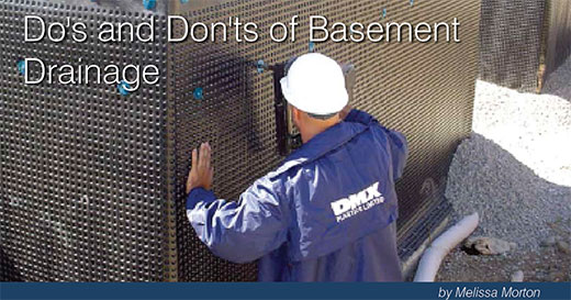 Many Factors And Variables Determine How To Best Address A Waterproofing Or  Drainage Issue. The Basement Health Association Hosted A Panel Discussion  On ...