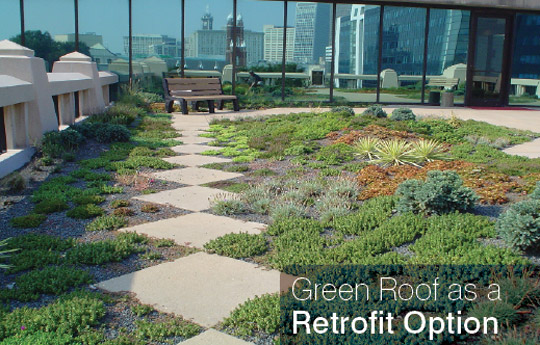 Green Roofs As A Retrofit Option