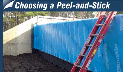 Self Adhered Membranes Are Popular For Waterproofing Foundations,  Pedestrian Tunnels And Other Below Grade Concrete Work In Residential And  Commercial ...