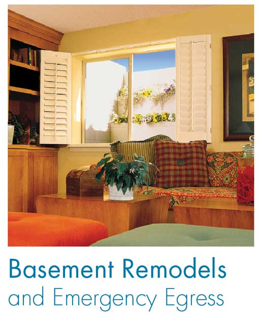 Basement Remodels And Emergency Egress Stunning Basement Bedroom Egress Remodelling
