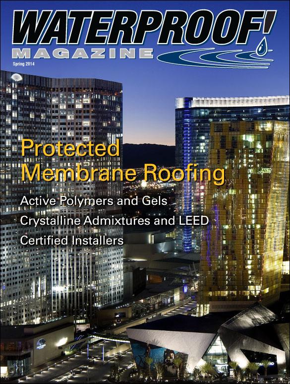 Protected Membrane Roofing Waterproof Magazine