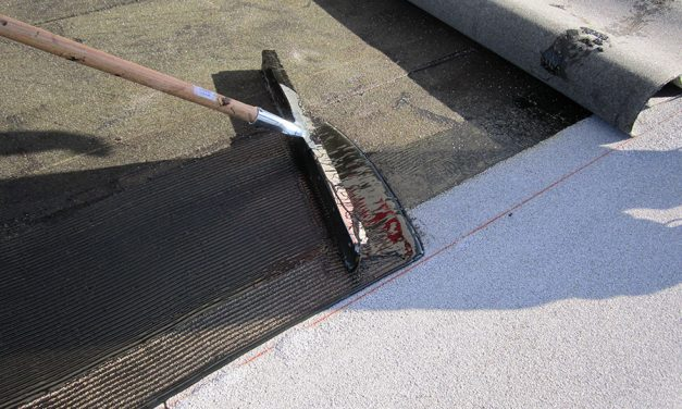Cold Liquid-Applied Roofing