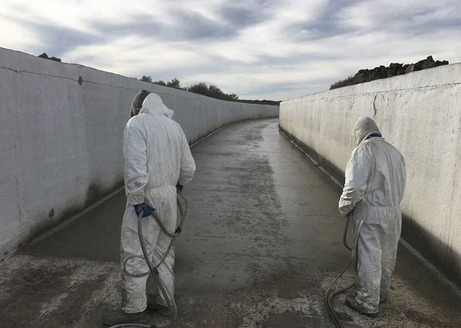 Sealing Commercial  Concrete