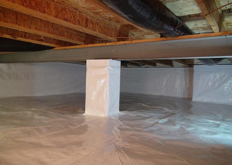 Sealed Crawlspaces: Concrete vs. Plastic