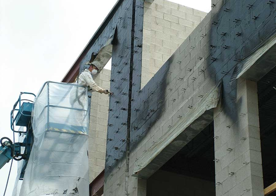 Selecting a Spray-Applied Air Barrier