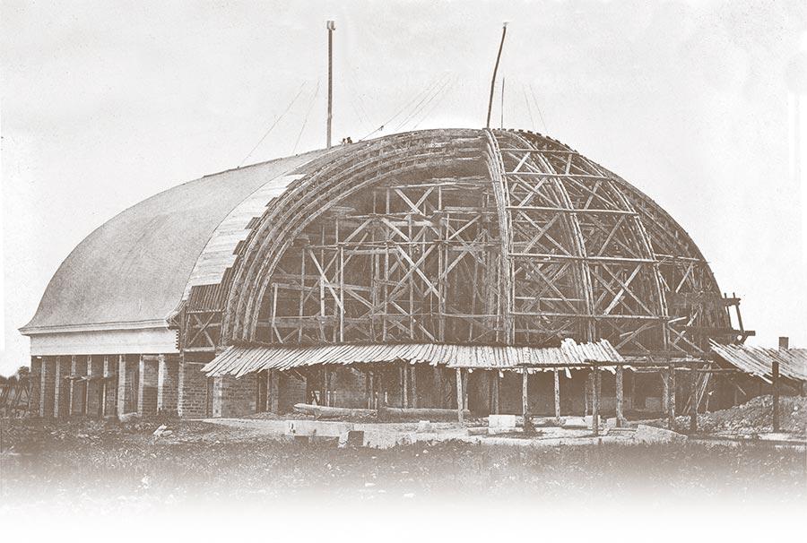 Roofing a Historical Landmark