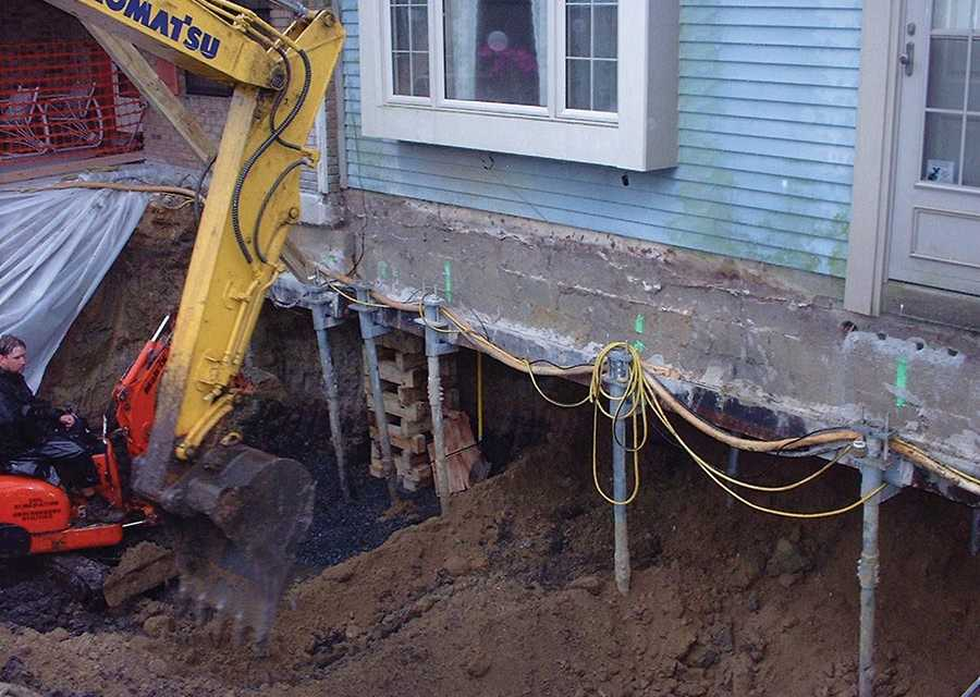 Fixing Failing Poured Wall Foundations