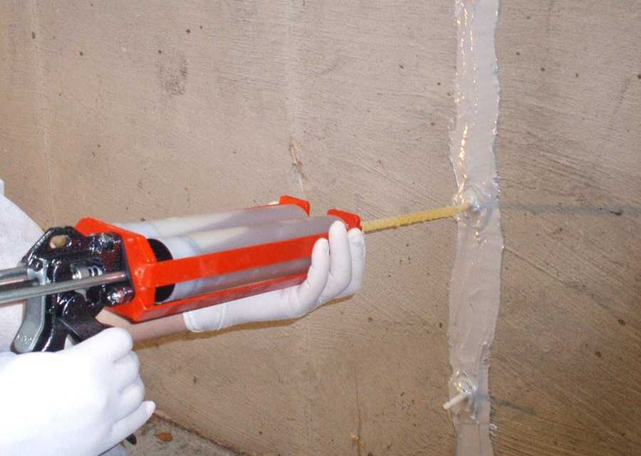 Foundation Crack Repair with Low-Pressure Injection Systems