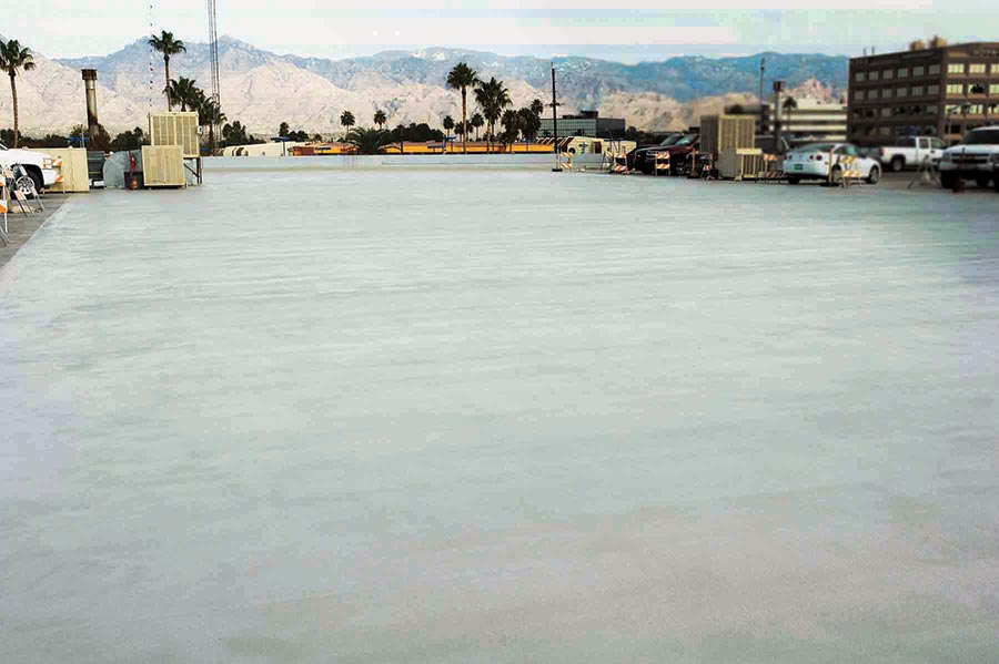 Above-Grade Waterproofing for Horizontal Surfaces
