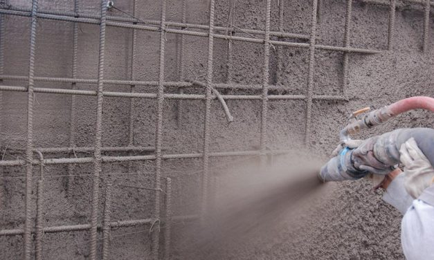 Water Barriers to Withstand Shotcrete
