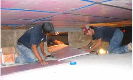 Drying Out a Waterfront Crawlspace