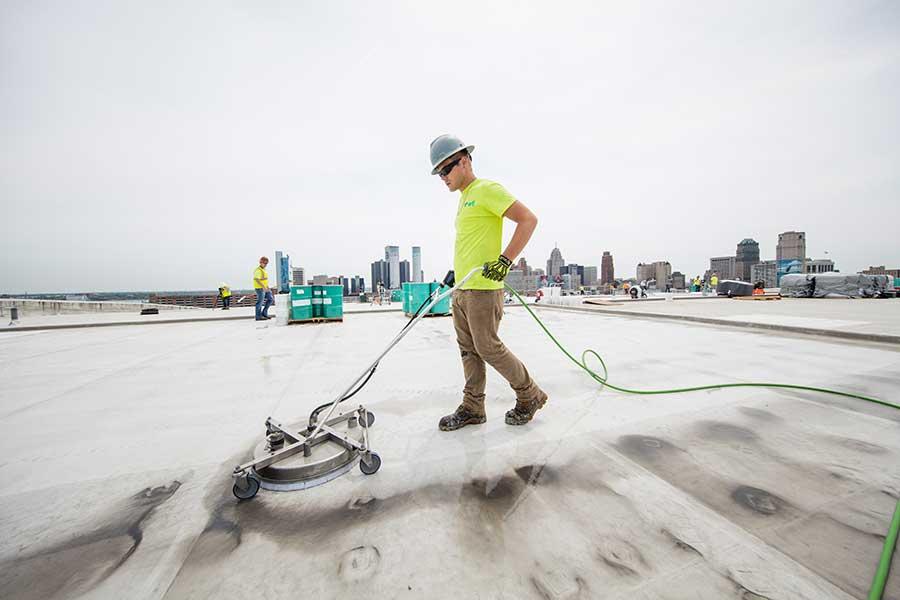 Roofing America S Largest Buildings Waterproof Magazine
