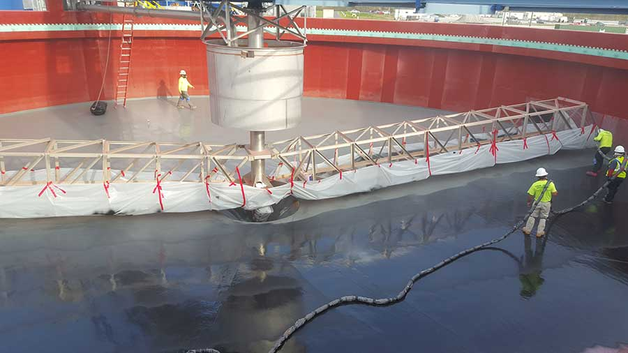 Rehabbing Aging Concrete Wastewater Infrastructure