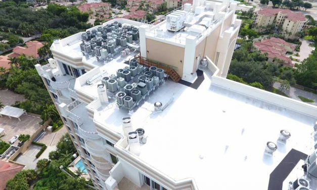 Reflective Coating System Restores Florida Condo Tower's Roof