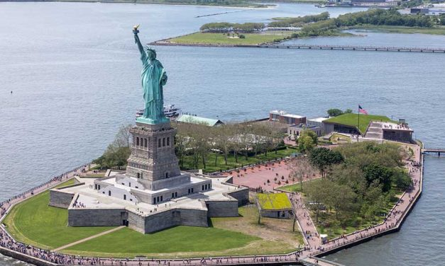 A Green Roof for Liberty Island